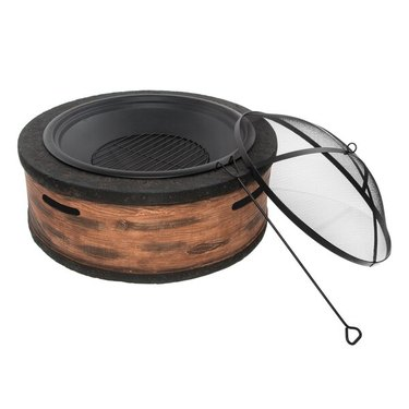 wayfair way day fire pit with cover