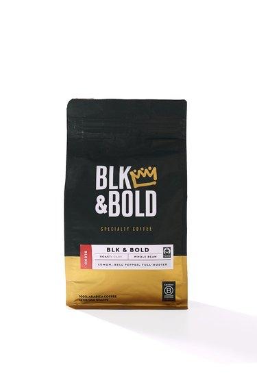 BLK & Bold dark roast coffee blend