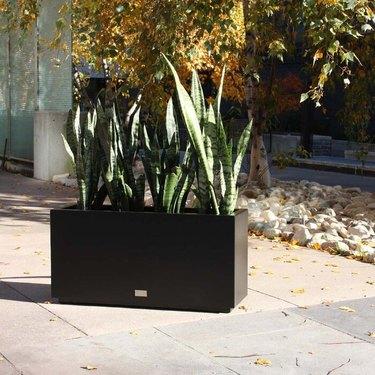 Veradek Metallic Series Galvanized Steel Planter Box
