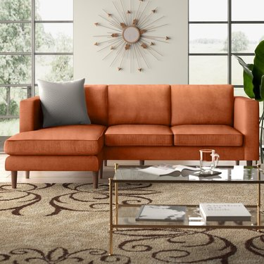 AllModern Aaron Wide Reversible Sofa & Chaise