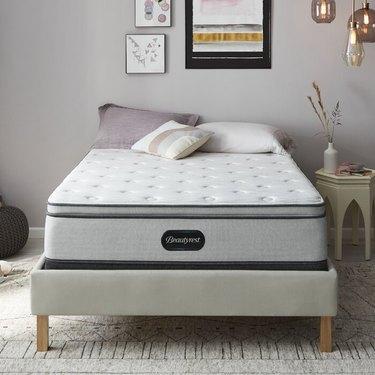 """Beautyrest BR800 14"""" Medium Pillow Top Hybrid Mattress"""