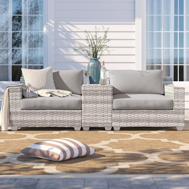 Sol 72 Outdoor Falmouth 3-Piece Rattan Seating Group
