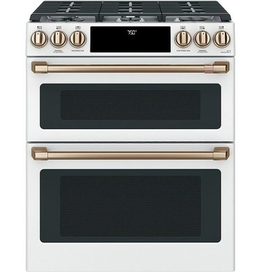 Cafe Smart Slide-in Gas Double Oven Range with Convection