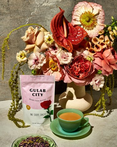 one stripe chai co rose chai blend