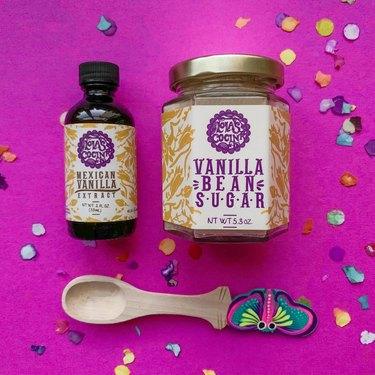 lola's mercadito vanilla bean sugar and extract