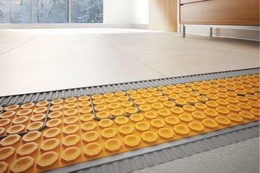 home luxuries heated flooring