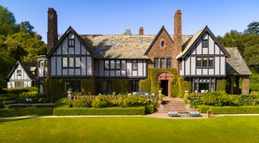 tudor revival house