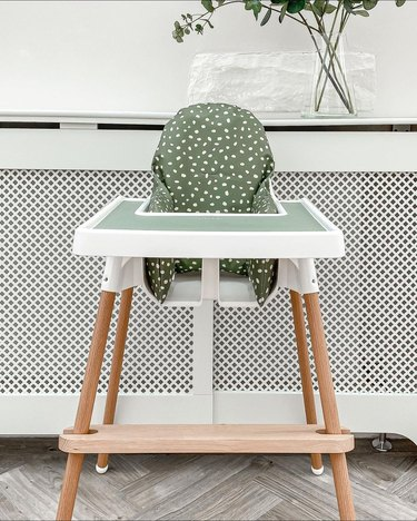 How Parents Hack the IKEA High Chair Into a Designer Item