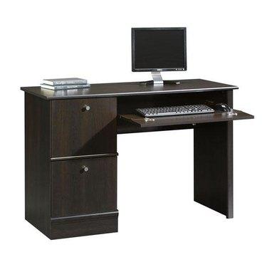 Sauders Office Furniture Cinnamon Cherry Computer Desk