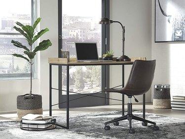Signature Design by Ashley Gerdanet Home Office Desk