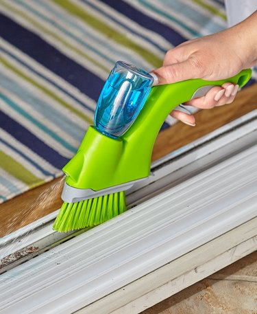 window sliding door track cleaning brush duster