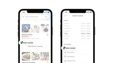 screenshot of yelp for business app
