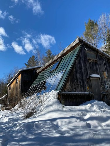 A Funky, Family-Friendly Cabin in Hancock, Vermont