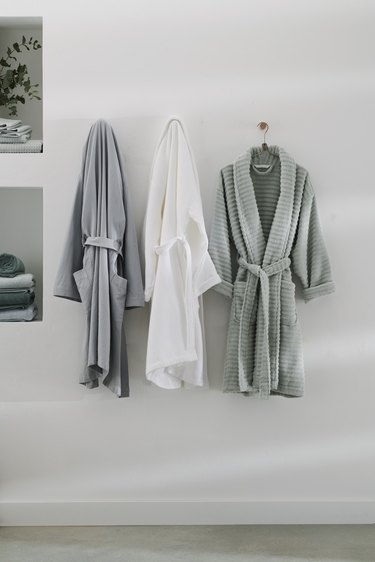 pastel cool-colored robes