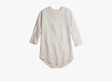 linen sleep shirt