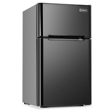 Compact Mini Fridge with Freezer