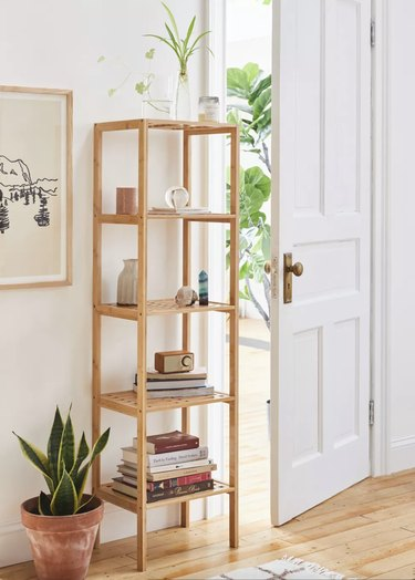 Urban Outfitters Wooden Levy Bookshelf