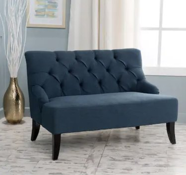 Polyester Blend Fabric Settee