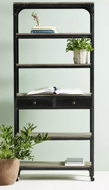 Five Shelf Bookshelf by Anthropologie