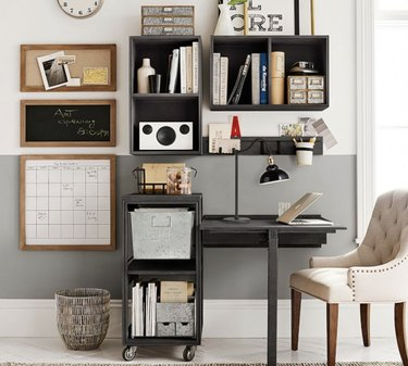 Pottery Barn Modular Office Storage