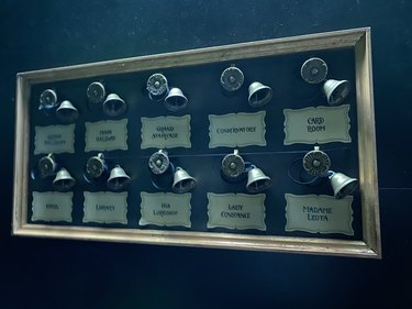 haunted mansion bell system
