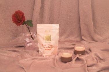 clevr blends rose cacao superlatte