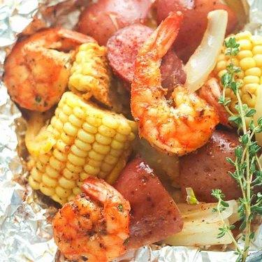 Immaculate Bites Shrimp Boil