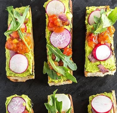 Cook With Manali Grilled Avocado Toast Sticks