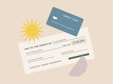 credit card illo
