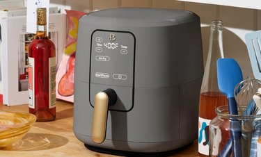 beautiful by drew barrymore gray air fryer