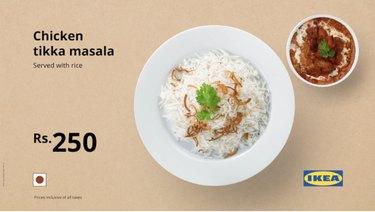 ikea india Chicken Tikka Masala