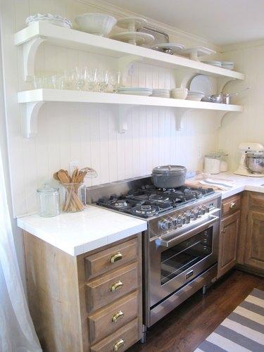 White tile DIY countertop tutorial link