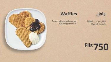 ikea kuwait Heart-Shaped Waffles