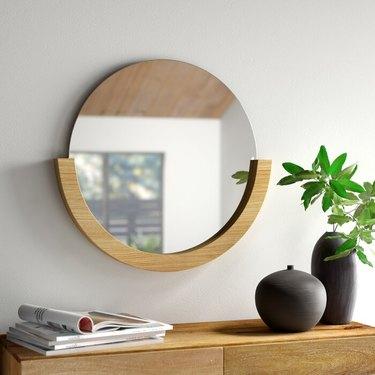 hallway mirror modern