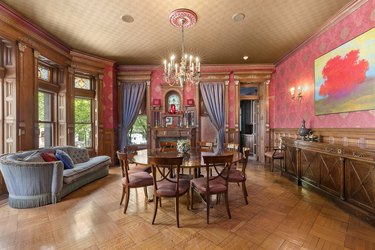 wes anderson royal tenenbaums mansion for sale dining room