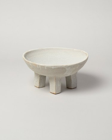 Nur Ceramics footed ritual bowl
