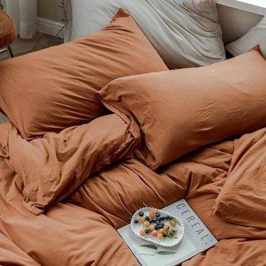 Handmade Cafe India bedding
