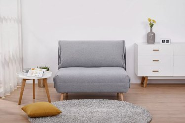 PragmaBed Deluxe Sleeper Chair in Gray, $429.99
