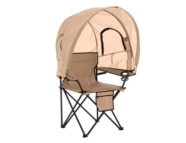 Amazon BrylaneHome Camp Chair with Canopy Shade