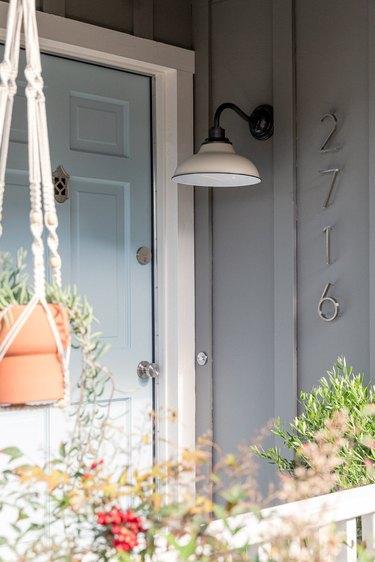 modern front porch