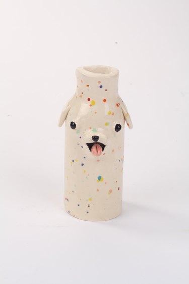 Katie Kimmel Puppy Vase