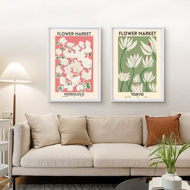 Katie's Urban Art Flower Market Prints