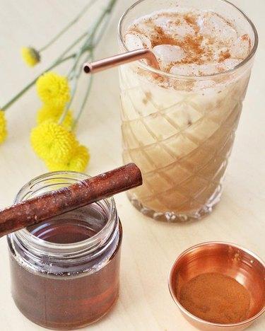 The Fancy Navajo Iced Cinnamon Dolce Latte
