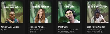 spotify plant playlists