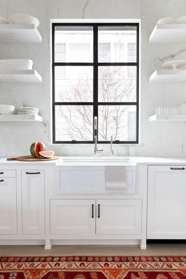 extra kitchen storage ideas floating shelves