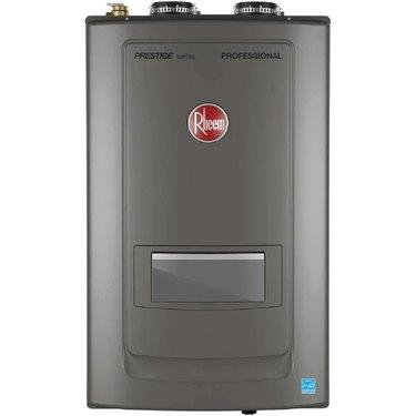 A Rheem high-efficiency boiler