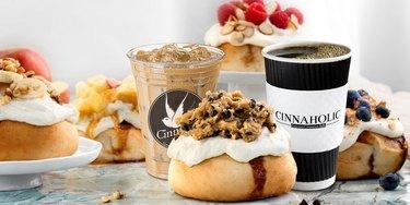 Cinnaholic Cinnamon Roll Dessert Shop