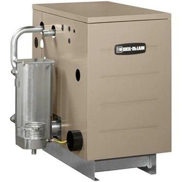 A Weil-McLain high-efficiency boiler