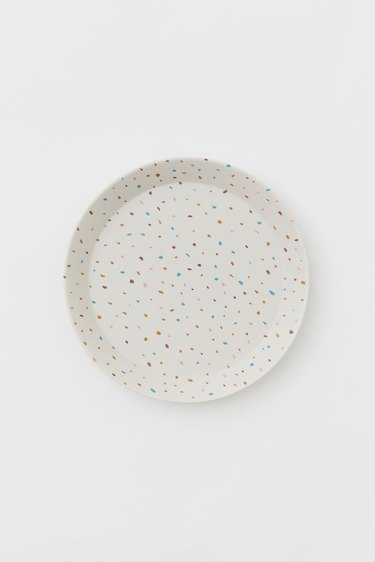 Colorful Dotted Plate