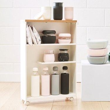 extra kitchen storage rolling organizer